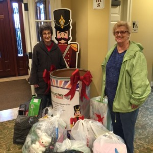 Jardine Funeral Home in Strongsville, OH - Another large toy donation from AudreyGamble and her group, Telecomm Pioneers. Thank You!