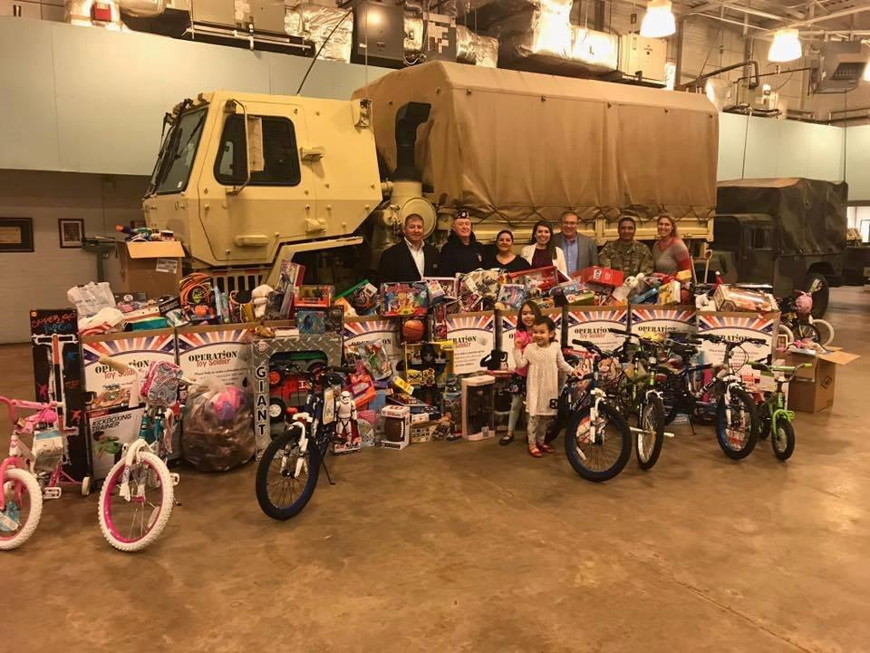 Operation Toy Soldier 2017 - Moody-Daniel Funeral Home - Zebulon, GA