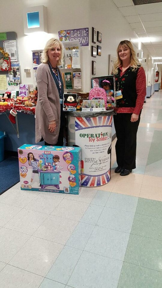 Smith, Bizzell and Warner FH toys from St. Anthony Village