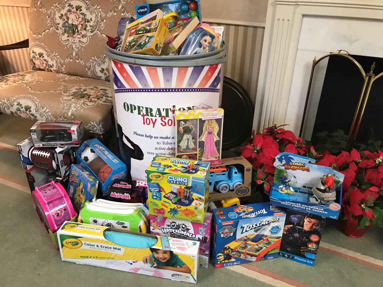 Operation Toy Soldier 2017 - Toy collection at Stumpff Funeral Home
